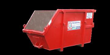 Meer info over: 3m3 Dakafval container open