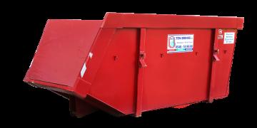 Meer info over: 10m3 Groen container open