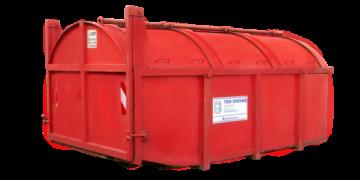 Meer info over: 10m3 Groen container gesloten